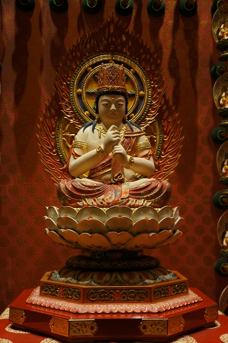 Zodiac Protector, of Goat and Monkey, Vairocana Buddha